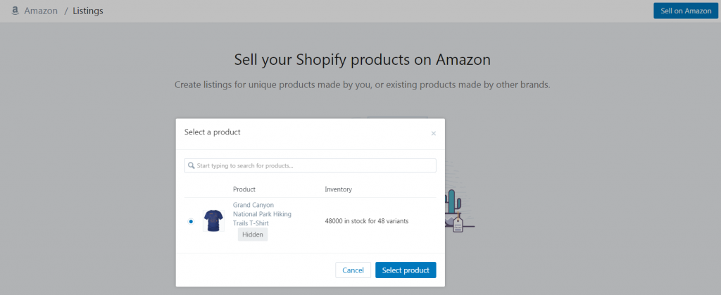 7cc5099be After you select the product that you want to list on Amazon, they are  going to ask you if you are selling a product from another brand, or from  your own ...