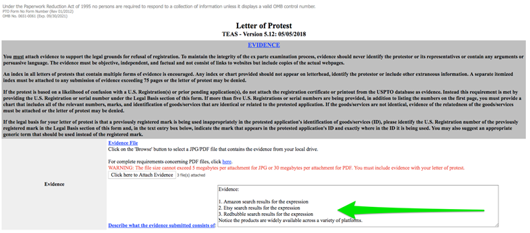 How To File Letters Of Protest Against Frivolous Trademarks