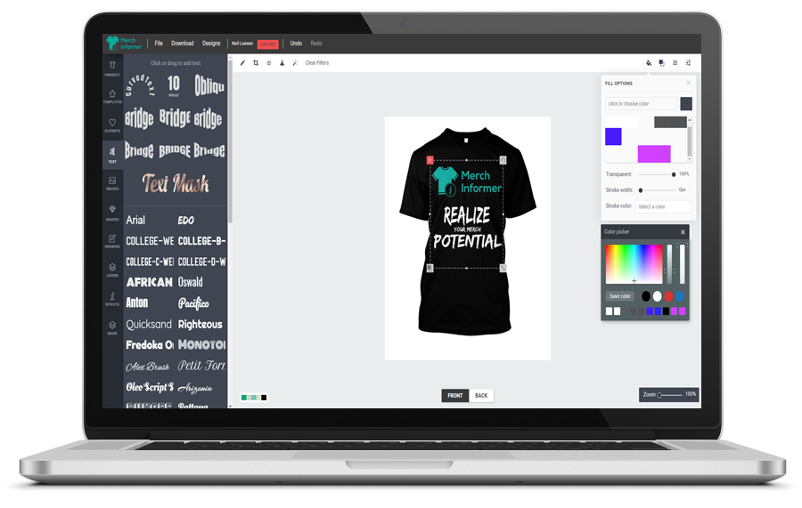 841fd6ba Use the Merch Designer to create beautiful one-off designs or use our  automated bulk design creator to create hundreds of unique designs with the  click of a ...